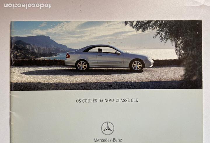 2002 catálogo mercedes-benz clase clk coupé