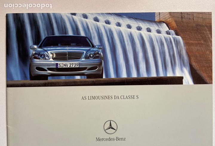 2002 catálogo mercedes-benz clase s