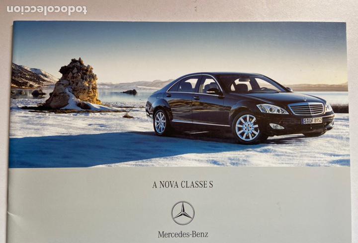 2005 catálogo mercedes-benz clase s