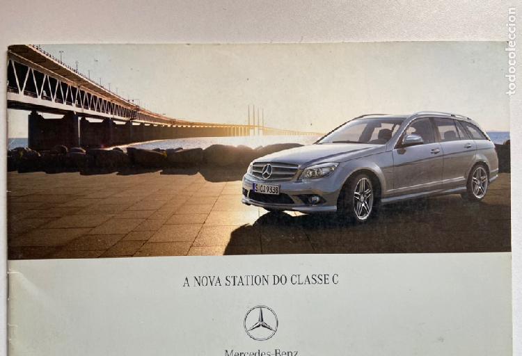 2007 catálogo mercedes-benz clase c