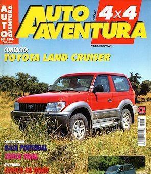 Auto aventura 4x4 nº 104 nissan terrano ii toyota land