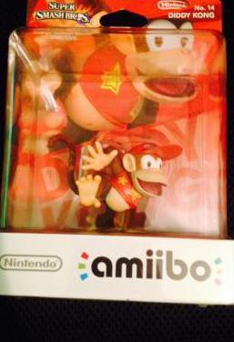 Amiibo diddy kong super smash bros