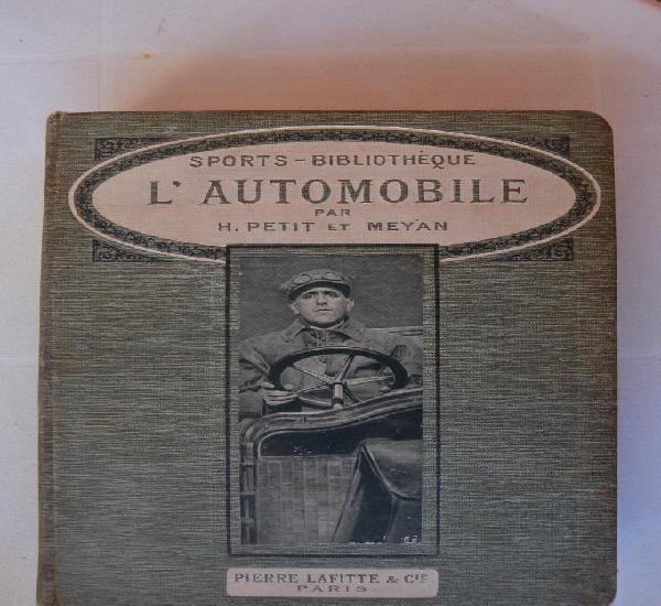 Cerca 1900 el automovil l`automobile por h.petit et meyan