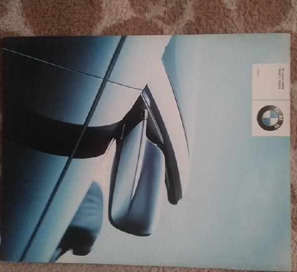 Catálogo nuevo bmw serie 3 cabrio (primer catálogo algo