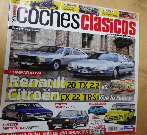 Coches clasicos 143. 50 años ford en españa-r-20 tx vs cx