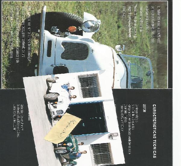 Dca lomax daganzo (madrid) roadster replica basis citroën 2
