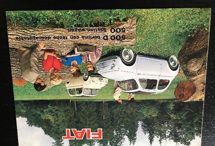 Fiat 500 d descapotable berlina station wagon - catalogo