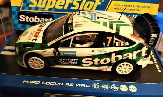 Ford focus rs wrc 2006 marca superslot