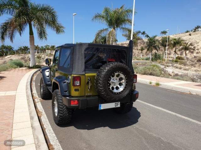 Jeep wrangler 2.8 crd sport de 2007 con 31.500 km por 20.900