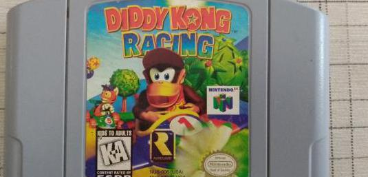 Juego diddy kong racing para nintendo 64