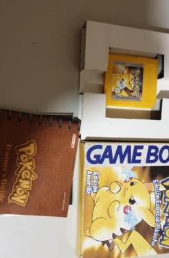 Juego pokemon amarillo (no dhl) molins de rei