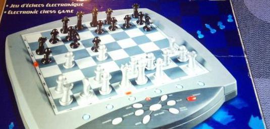 Juego ajedrez electrónico