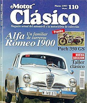 Motor clasico nº 110 alfa romeo 1900 puch 350 cs hispano
