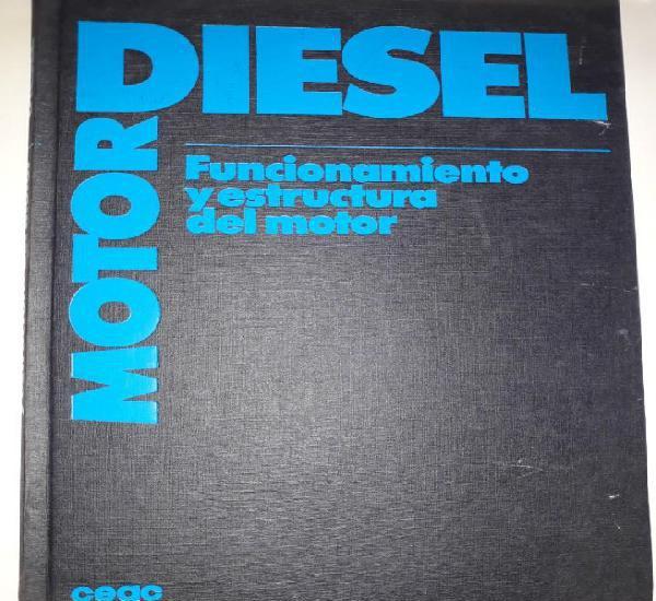 Motor diesel funcionamiento estructura cilindros bloque