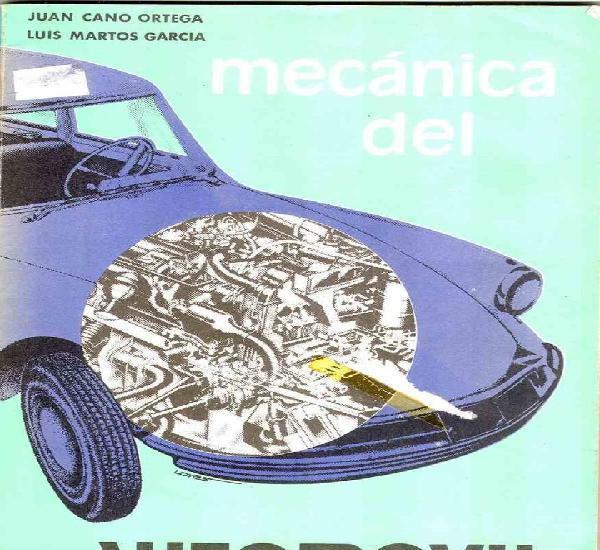Mecánica del automóvil (juan garcía ortega y luis martos