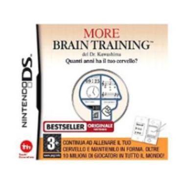 More brain training para nintendo ds