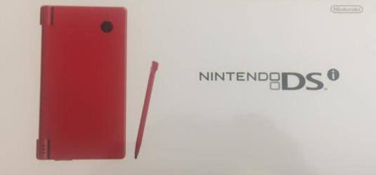 Nintendo dsi roja pal españa