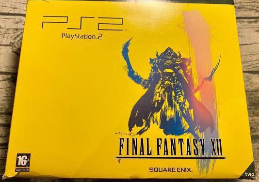 Ps2 slim negra edición final fantasy xii