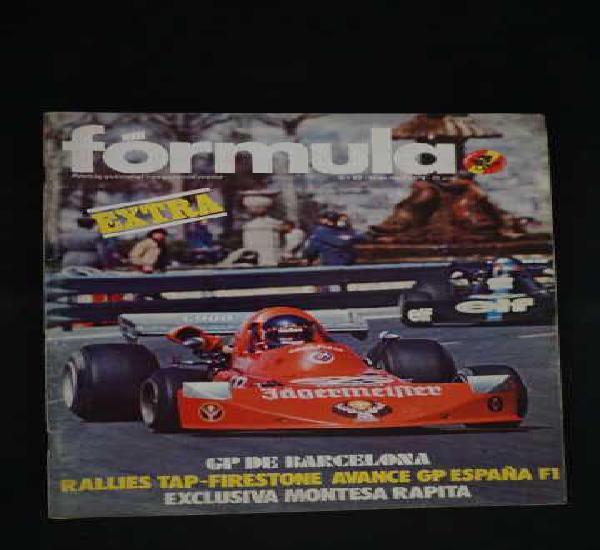 Revista formula numero 93 ademas incluye exclusiva montesa