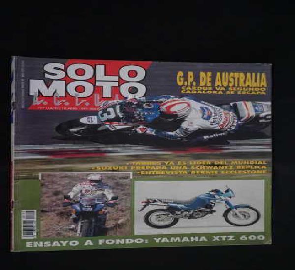 Revista solo moto numero 777 + g.p. de australia
