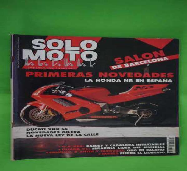Revista solo moto numero 779 + g.p. de usa