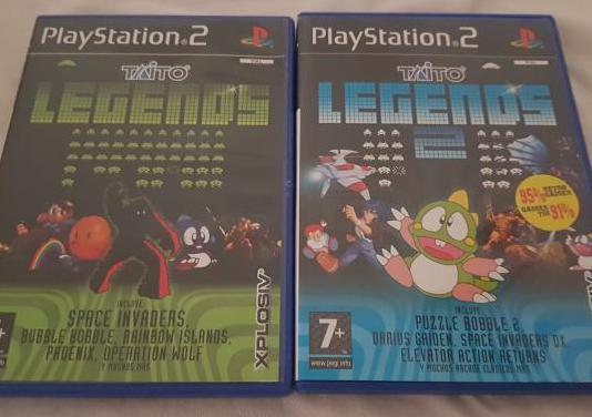 Taito legends i y ii ps2