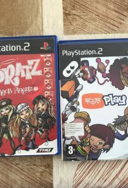 Juegos play station 2 y accesorios