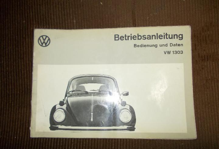 Manual vw escarabajo aleman