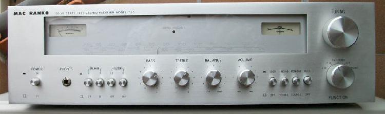 Amplificador (receptor) mac ranko 501.