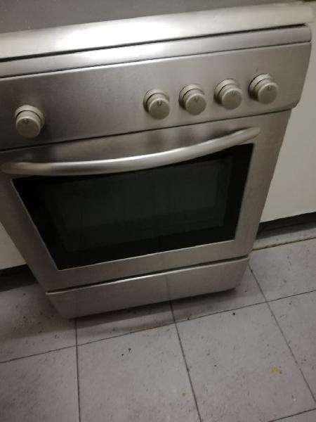 Cocina gas fogones+horno