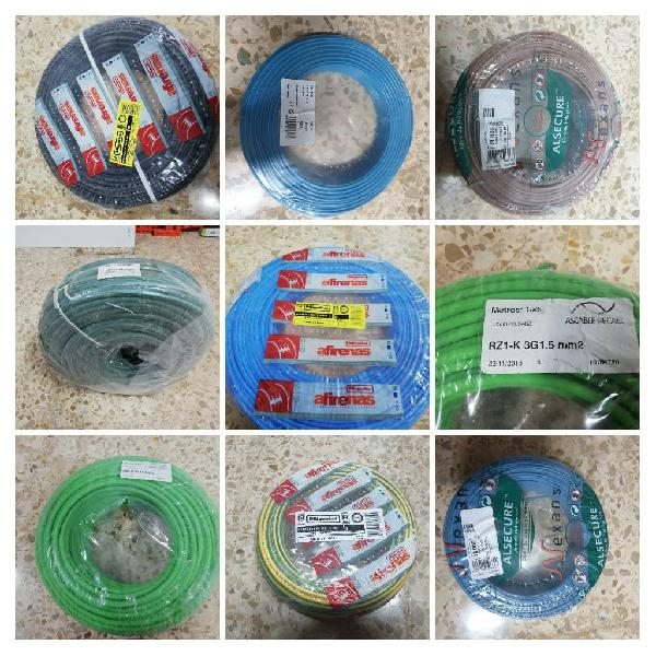 Cable flexible 100/200mtrs rollo 1,5/2,5/4/6/10 mm