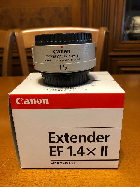Canon extender teleobjetivo