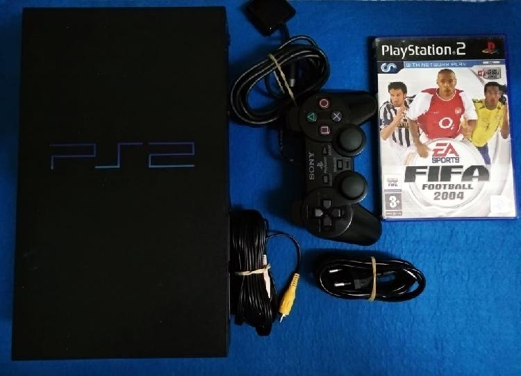 Consola sony playstation 2 (ps2 fat)