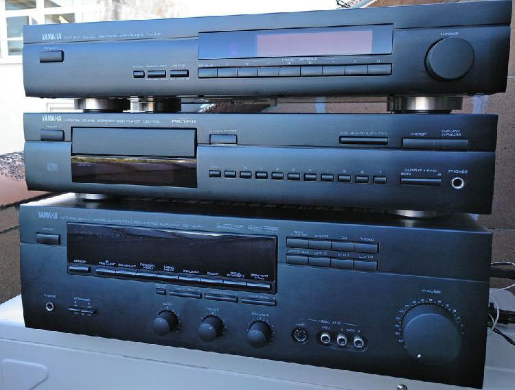 Equipo sonido (ampli + cd + sintonizador yamaha)