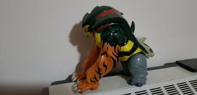 Figura animal action man, mattel 1996