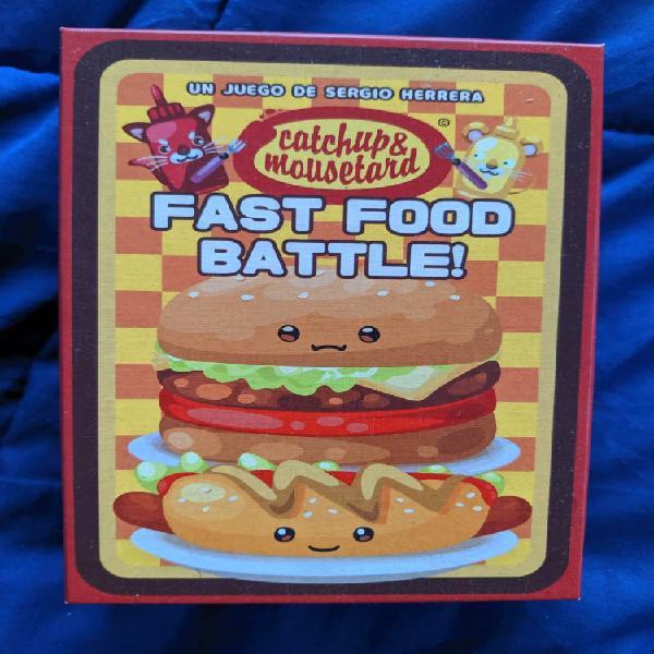 Juego de cartas fast food battle!