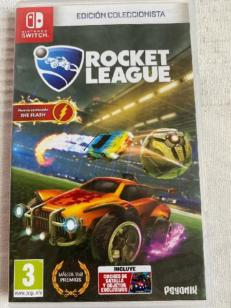 Juego nintendo switch rocket league