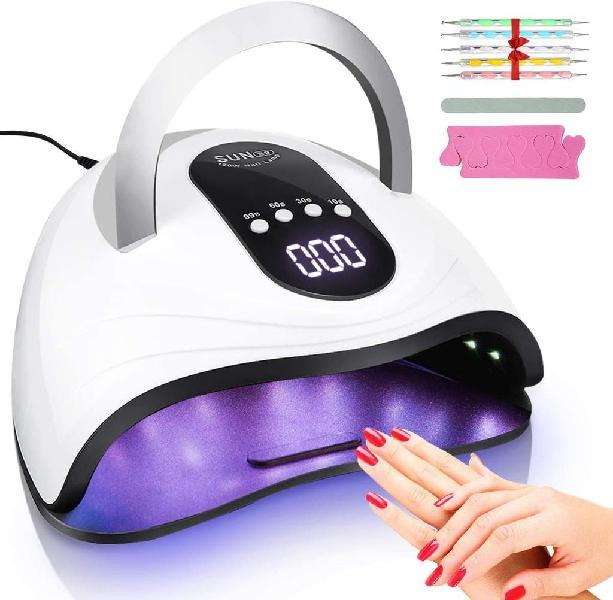 Lampara secador de uñas profesional led uv