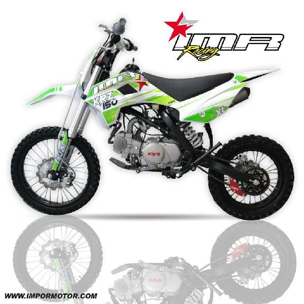 Pit bike imr krz 150 xl ¡novedad!