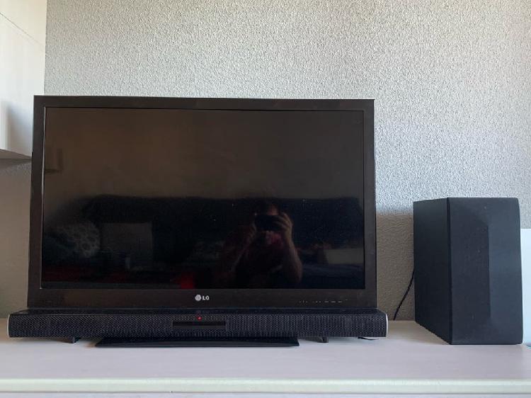 Pack tv y barra de sonido