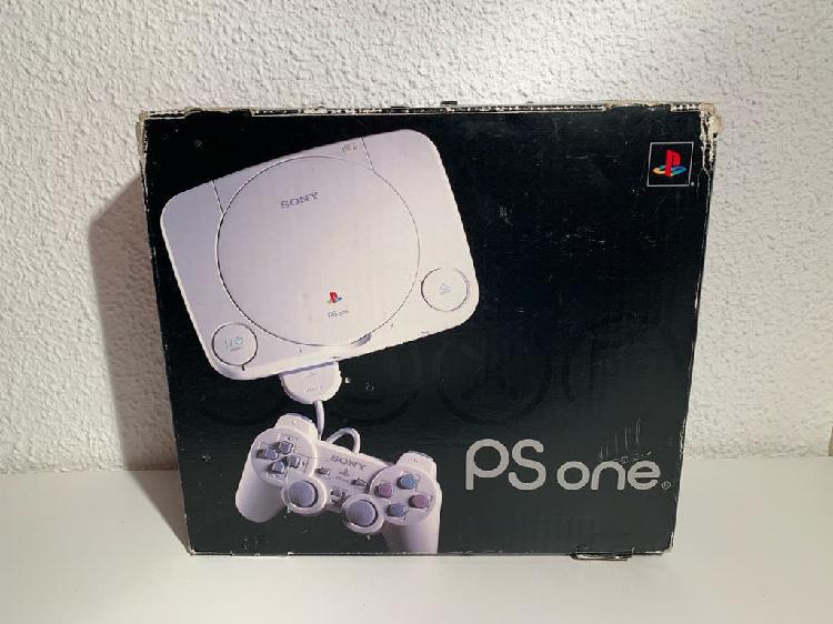 Play one (ps1) + 3 juegos