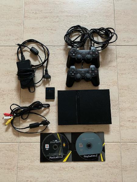 Playstation 2 slim + 2 juegos