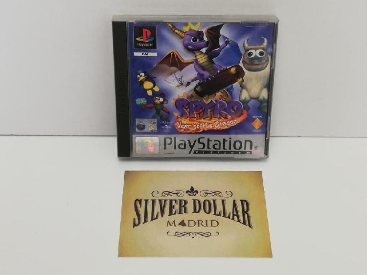 Playstation: spyro year of the dragon pal (uk) psx
