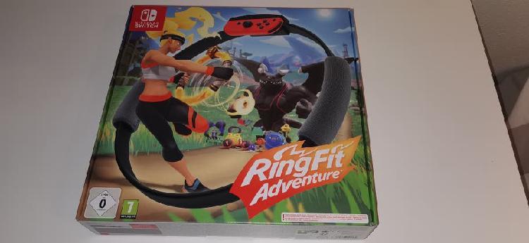 Ring fit adventure nintendo switch nuevo precintad