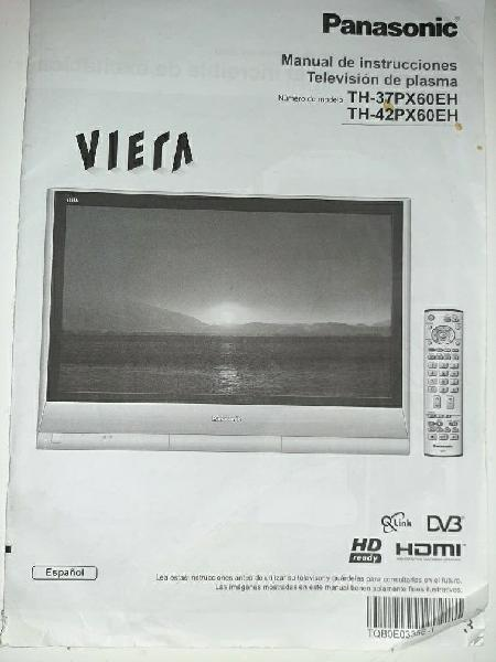 Televisor panasonic vieta th-42px60eh