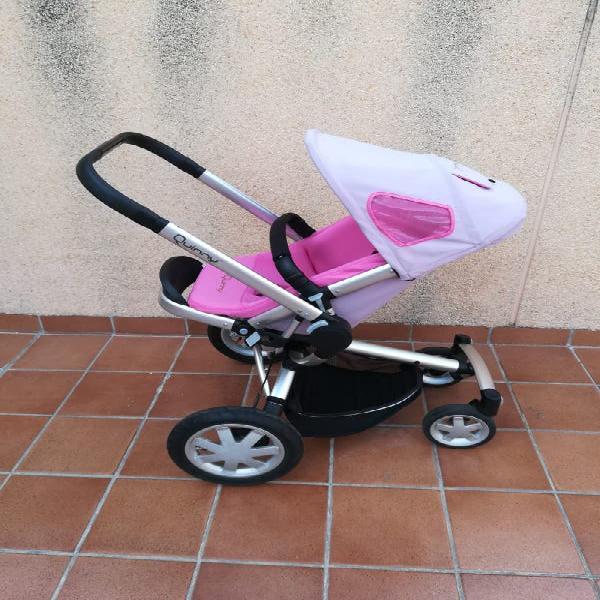 Trío cochecito de bebé quinny buzz + accesorios