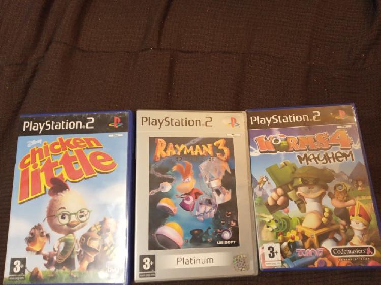 Juegos playstation 2, lote