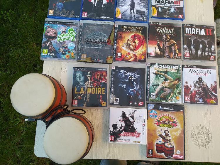Lote juegos ps4 ps3 game cube