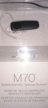Auricular bluetooth m70