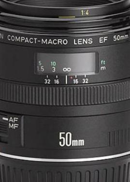 Canon ef 50 mm f2.5 compact macro
